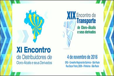XI encontro com distribuidores e XIX encontro de transporte seguro dos produtos de cloro-alcalis