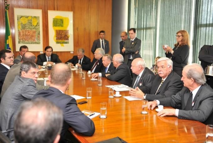 NTC Logistica participou de uma audiencia com o presidente rodrigo maia da camara dos deputados
